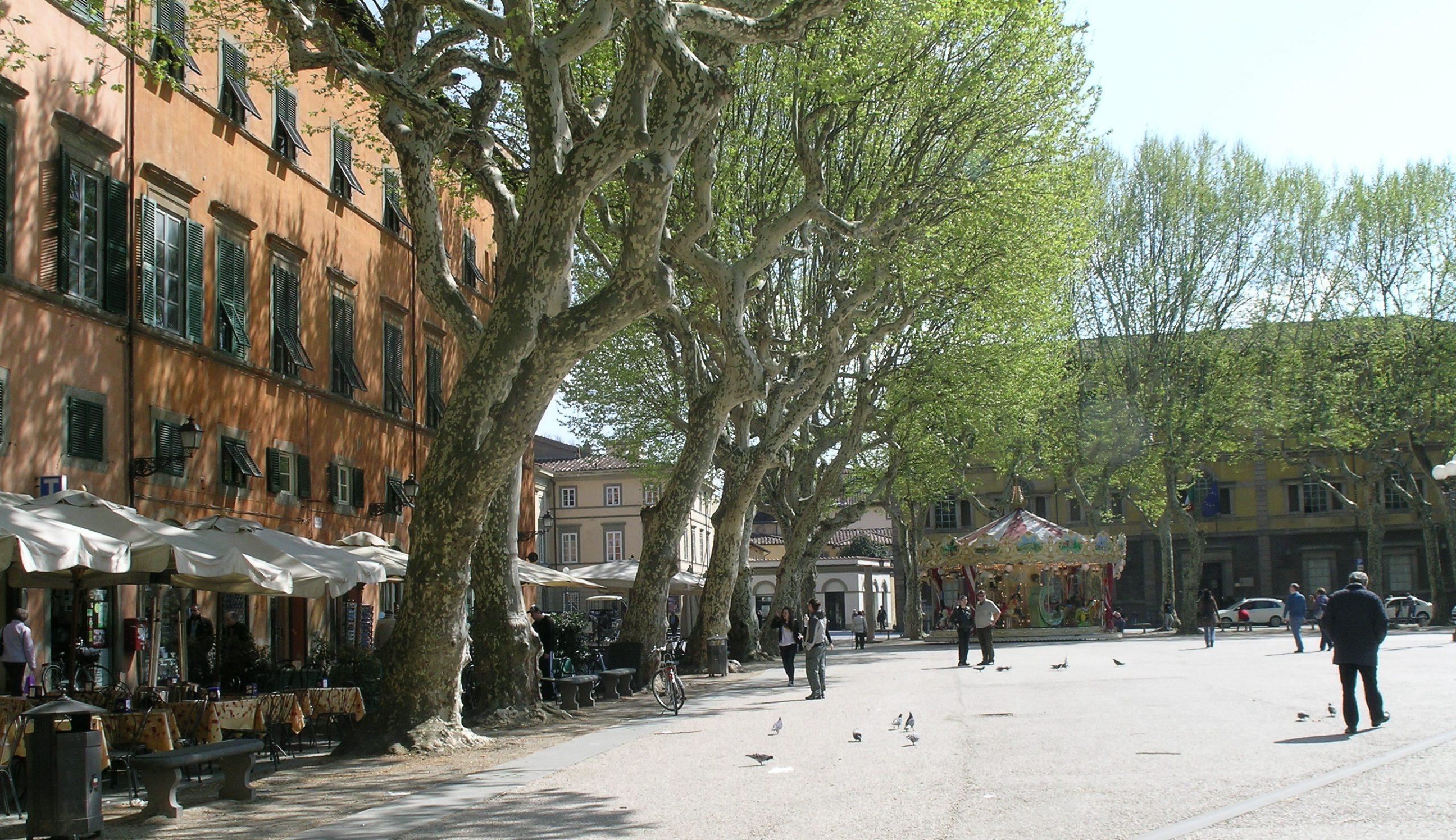 nel cuore del centro storico pedonale della città